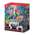 Super Smash Bros Game Box