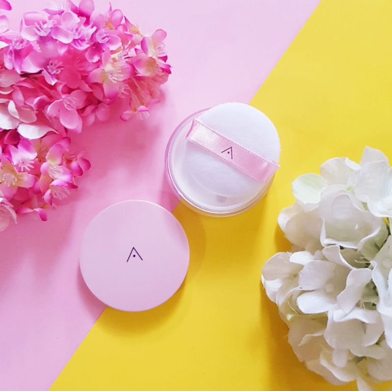 althea velvet petal powder review