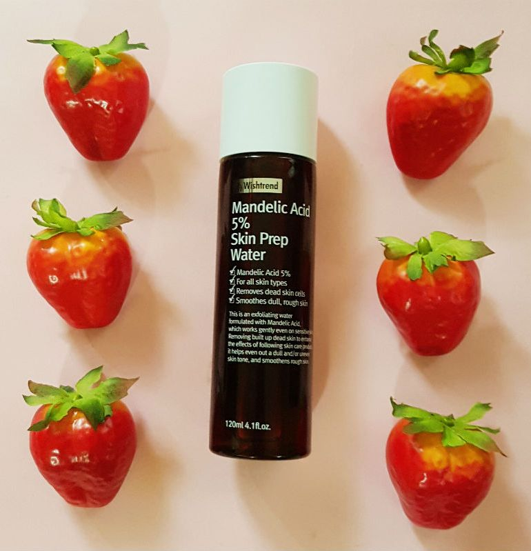 by wishtrend mandelic acid 5% skin prep water review
