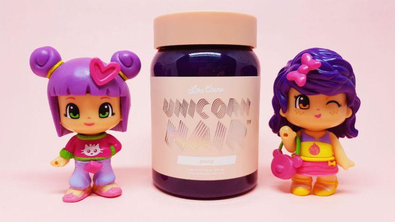 limecrime unicorn hair review - pony shade