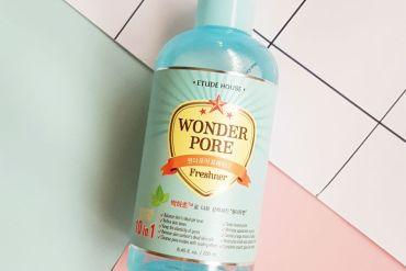 etude house wonder pore freshner review