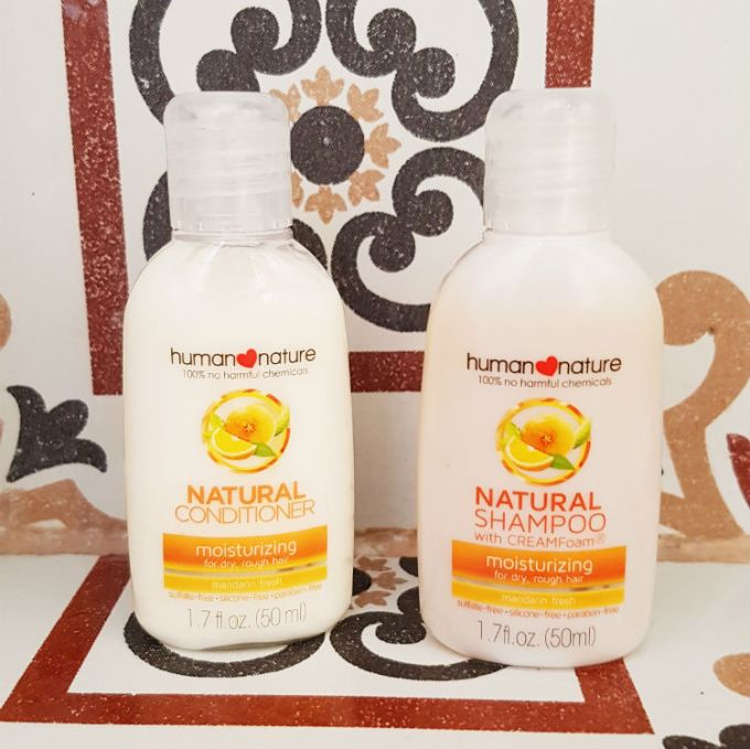 human naturenatural shampoo & conditioner review