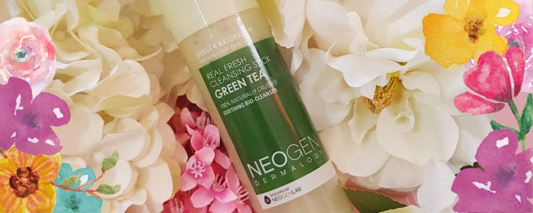 neogen real fresh green tea cleansing stick review