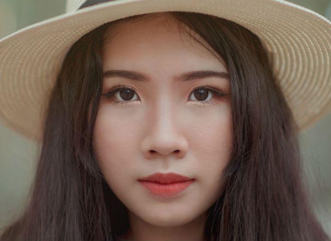 eyes eyebrows asian beauty