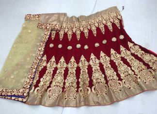 Bridal Party Lehenga Dresses For Indian Women 2015
