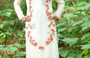Autumn Wear Kurti By Syra Azadi For Girls 2015