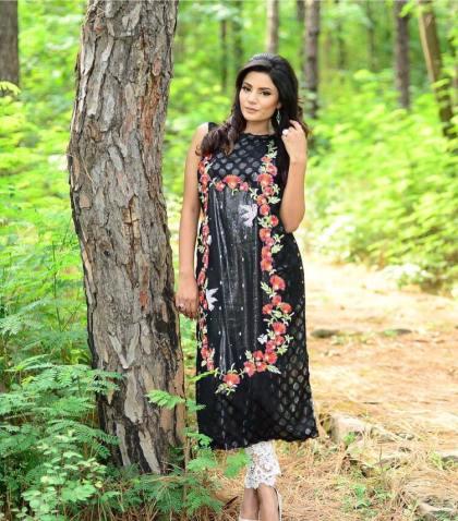 Autumn Wear Kurti By Syra Azadi For Girls 2015 6