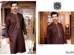 Eid Wear Men Kurta Designs By Rivaj Fabrics 2015