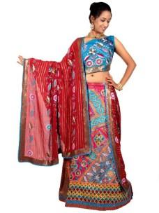 Bridal Party Lehenga Choli Dresses 2015 6