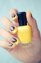 Beautiful Aztec Nail Art Designs For Young Girls 6