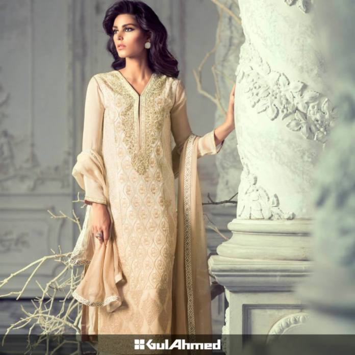 rose gold shalwar kameez