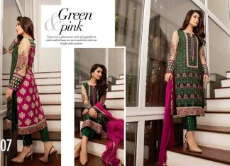 Embroidered Eid Chiffon Wear By Baroque 2015-16