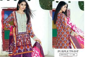 Three Piece Eid Dresses By Bonanza 2015-16