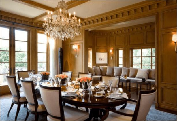 Vintage Style Dining Room Decor Ideas