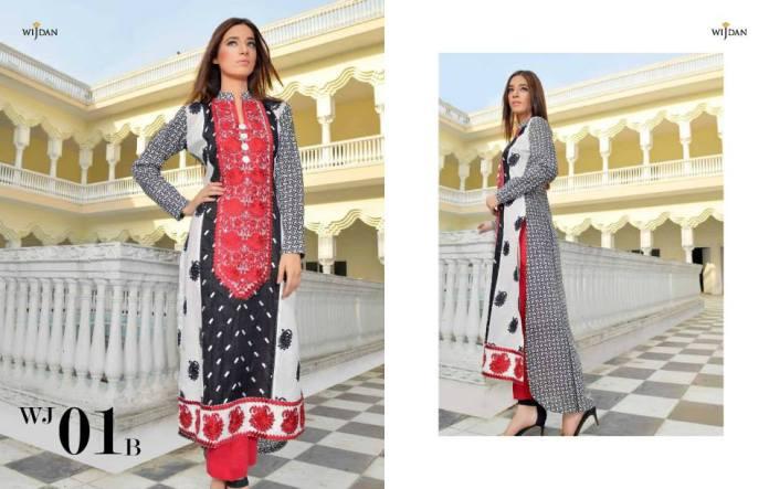 af0551662b Wijdan Eid Ul Azha Dresses By Salam Textiles 2015-16