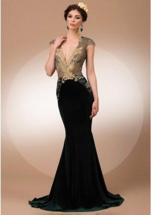 evening wear gown