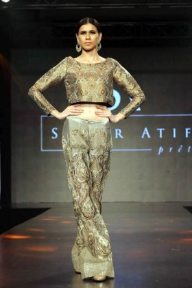 Evening Wear Pakistani Dresses By Sahar Arif 2015