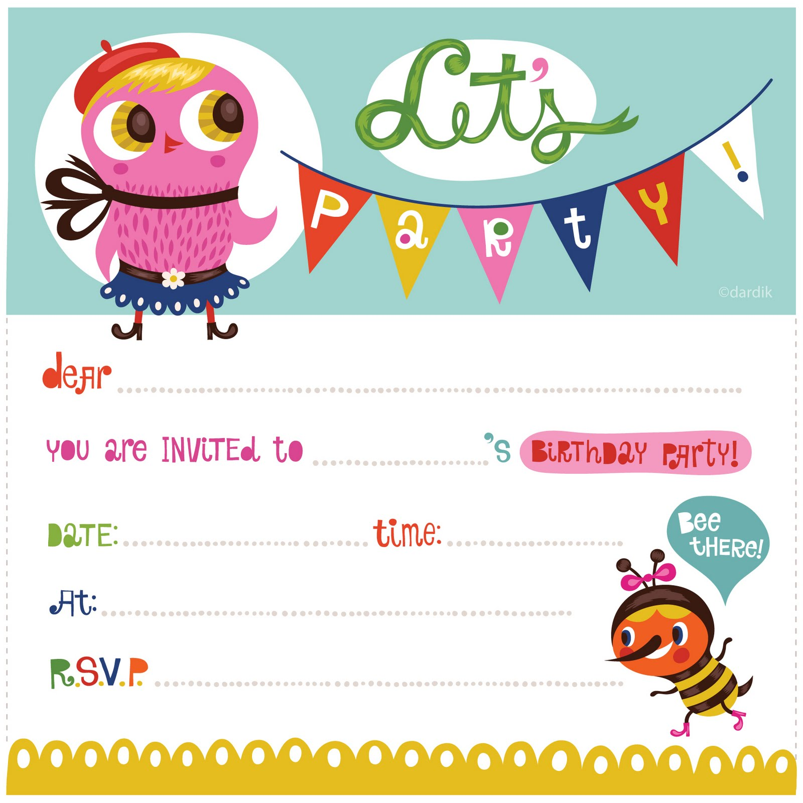 Kids Birthday Party Invitation Card Ideas For Your Child Special Day Designs On