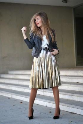 skirt in winter