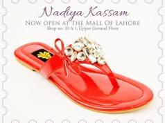 Casual Chappal Footwear For Girls By Nadiya Kassam 2016