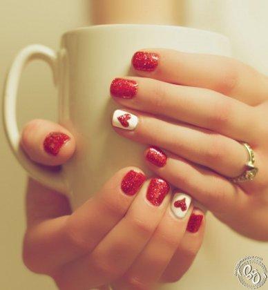 Xmas nail art