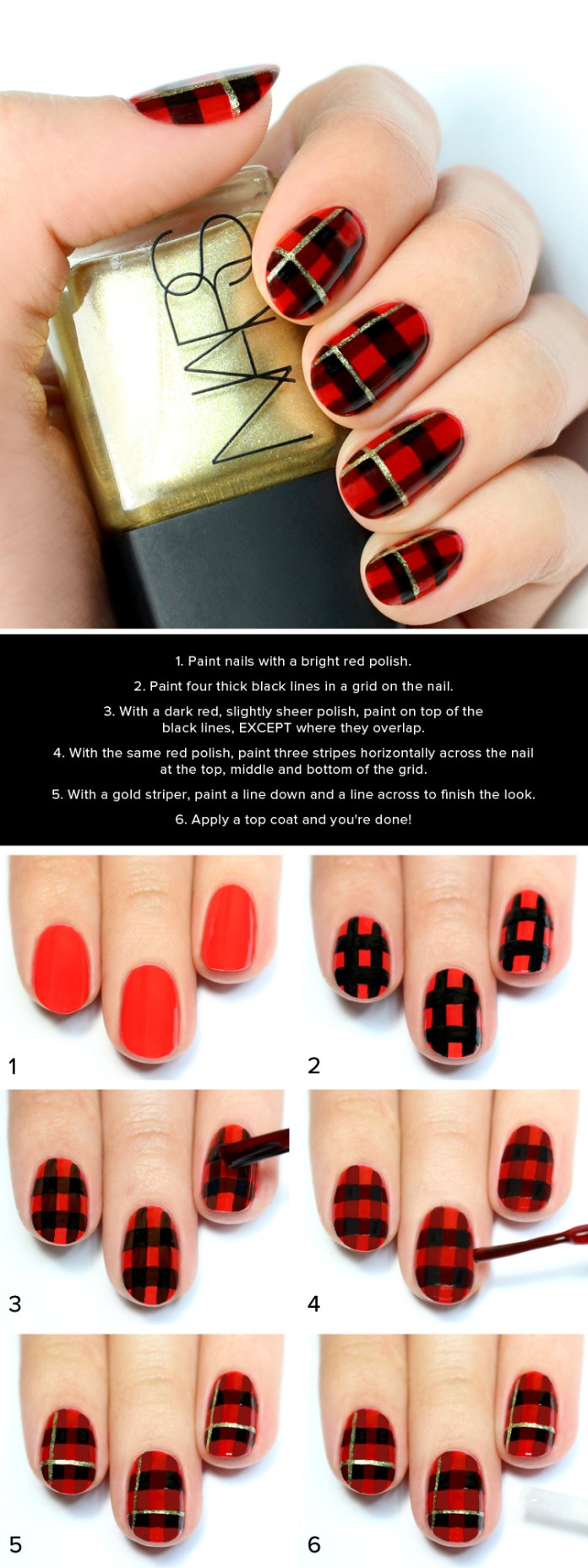 Christmas Nail Tutorials You Need To Copy This Season 9