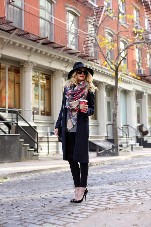 Scarf trend in winter