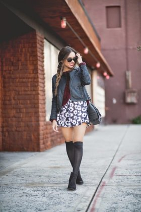 Knee High Socks Styles To Try This Winter Season