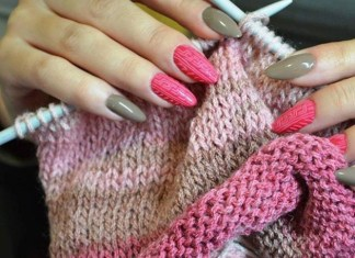 Knit Sweaters Nail Art Designs To Try This Winter