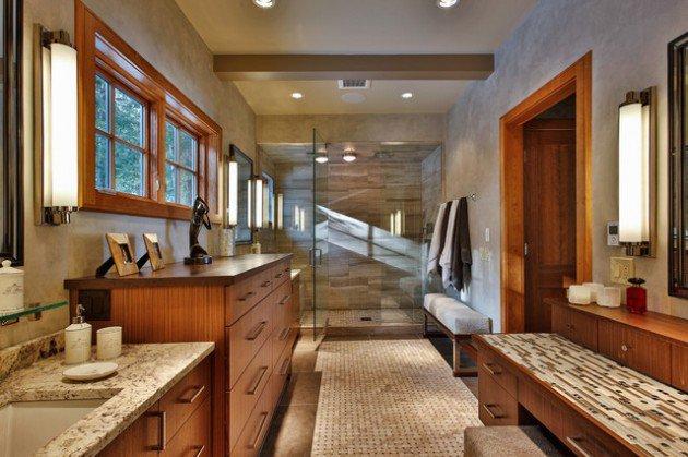 Luxury Rustic Bathroom Designs For Your Comfort