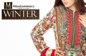 Mausummery Winter Collection 2015 For Pakistani Women