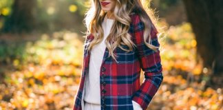 Plaid Coat Designs For This Winter