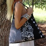 Printed Handbags Fabricated Designs For Trendy Women