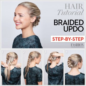 Thanksgiving Dinner Hair Tutorials Step By Step For Every Women 4