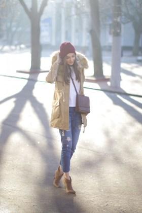 winter warm clothing