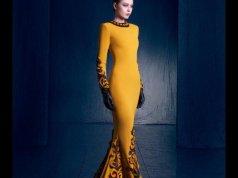 Nicolas Jebran Haute Couture Collection 2016 Evening Wear Dresses
