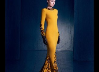 Nicolas Jebran Haute Couture Collection 2016 Evening Wear Dresses