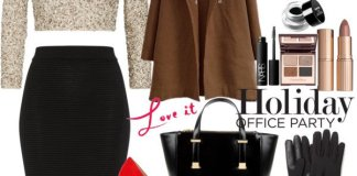 Office Party Wear Polyvore Combos This Holiday Season 2015-16