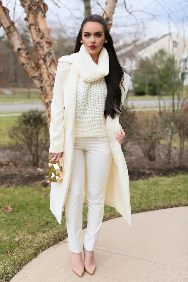 all white outfits to try this winterspring season