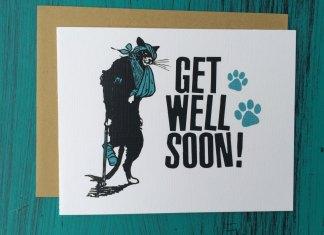 Get Well Soon Cards DIY Handmade Designs 2016
