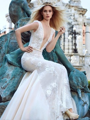 Haute Couture Ivory Tower Collection Galia Lahav 2016