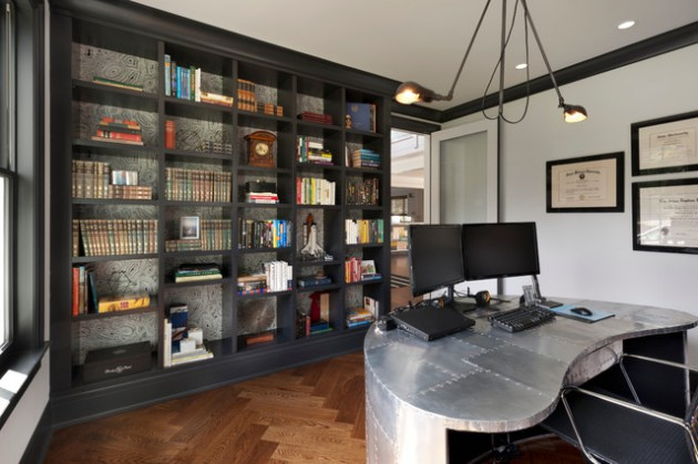 Industrial Home Office Decor Ideas For Comfortable Working