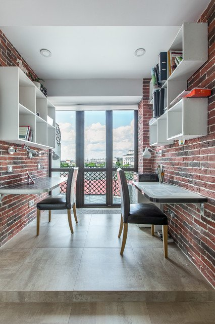 Industrial home office decor ideas