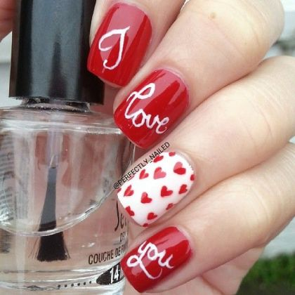 Valentines Day Nail Art Ideas Every Girl Should See