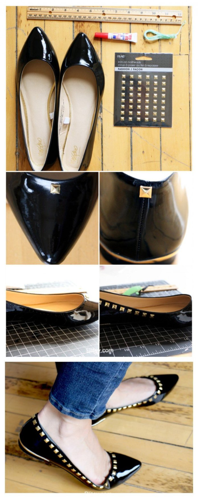 DIY Flat Shoes For Women