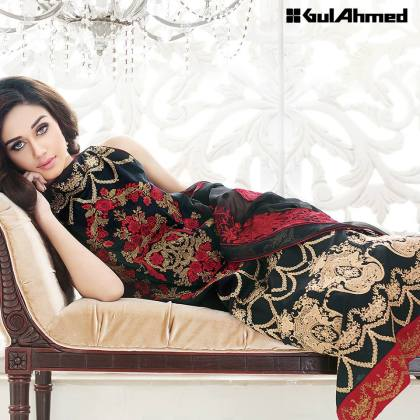 Gul Ahmed Unstitched Summer Lawn Collection 2016