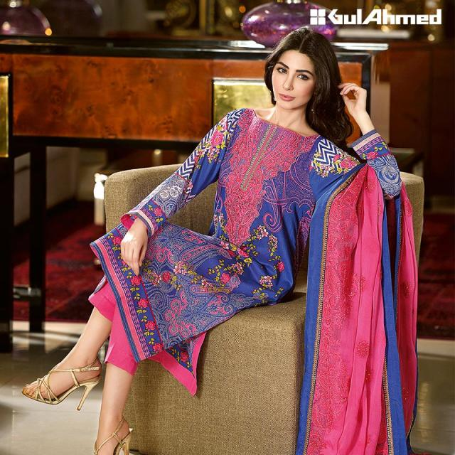 Gul Ahmed Unstitched Summer Lawn Collection