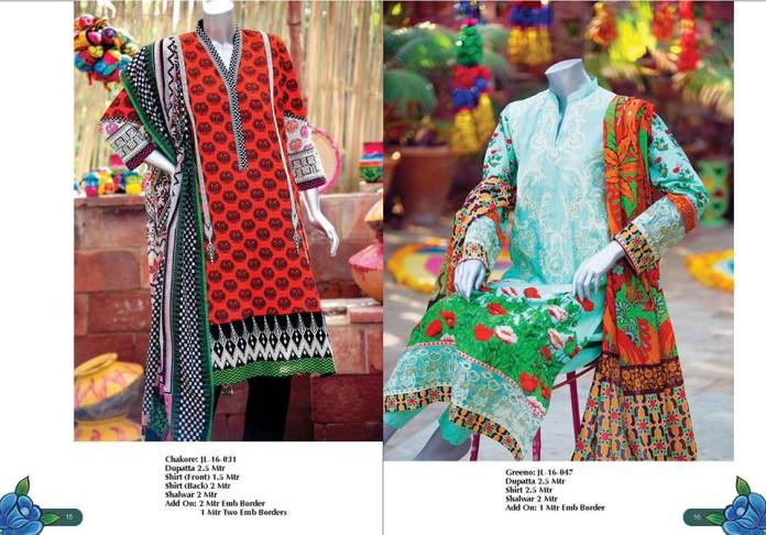 J. Har Rang Apna spring summer collection