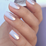 Metallic Nail Designs You Should Copy This Summer