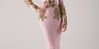Michael Costello Spring Summer Evening Wear 2016